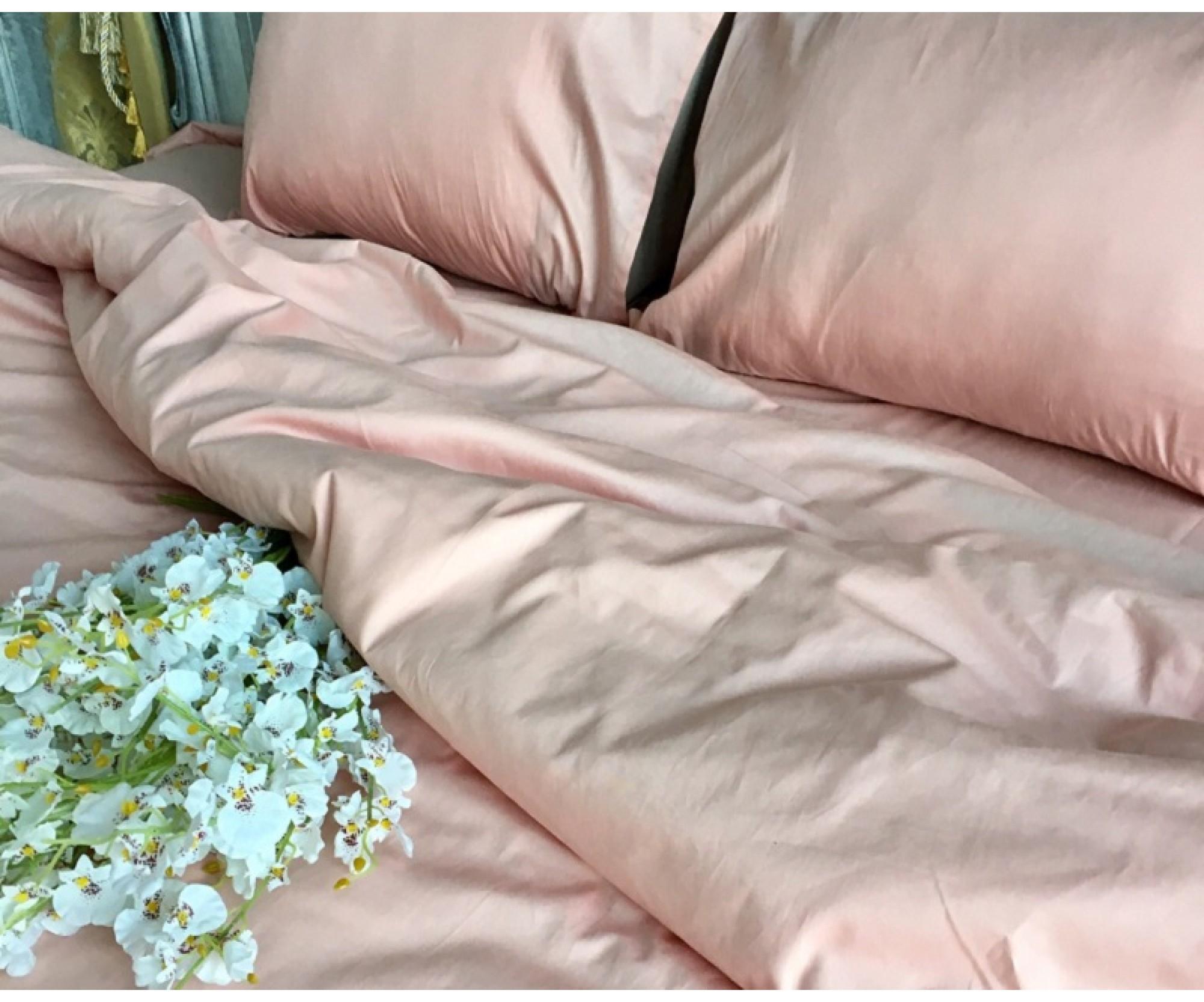 Постельные принадлежности «Дымчатая роза» для круглой кровати