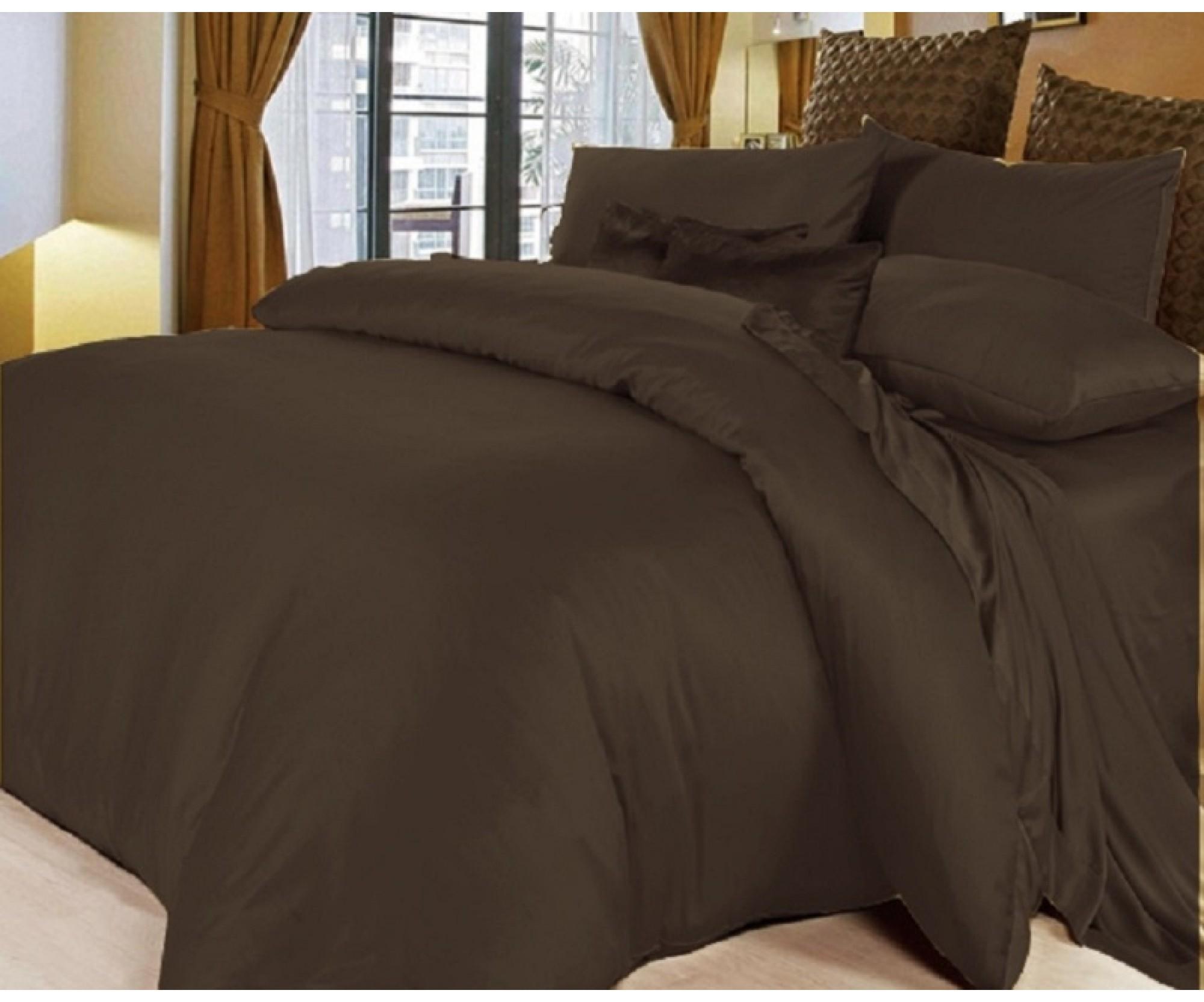 Постельные принадлежности «Горячий шоколад» для круглой кровати