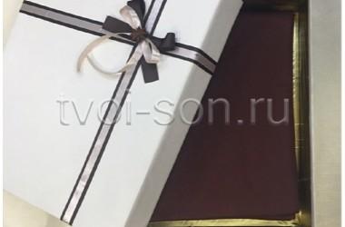 Комплект Оттенки глинтвейна в подарочной коробке