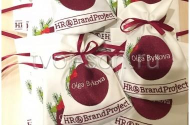 Мешочки для корпоративных подарков.