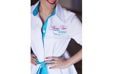 Заказ на пошив медицинских халатов для Yana Viun creative