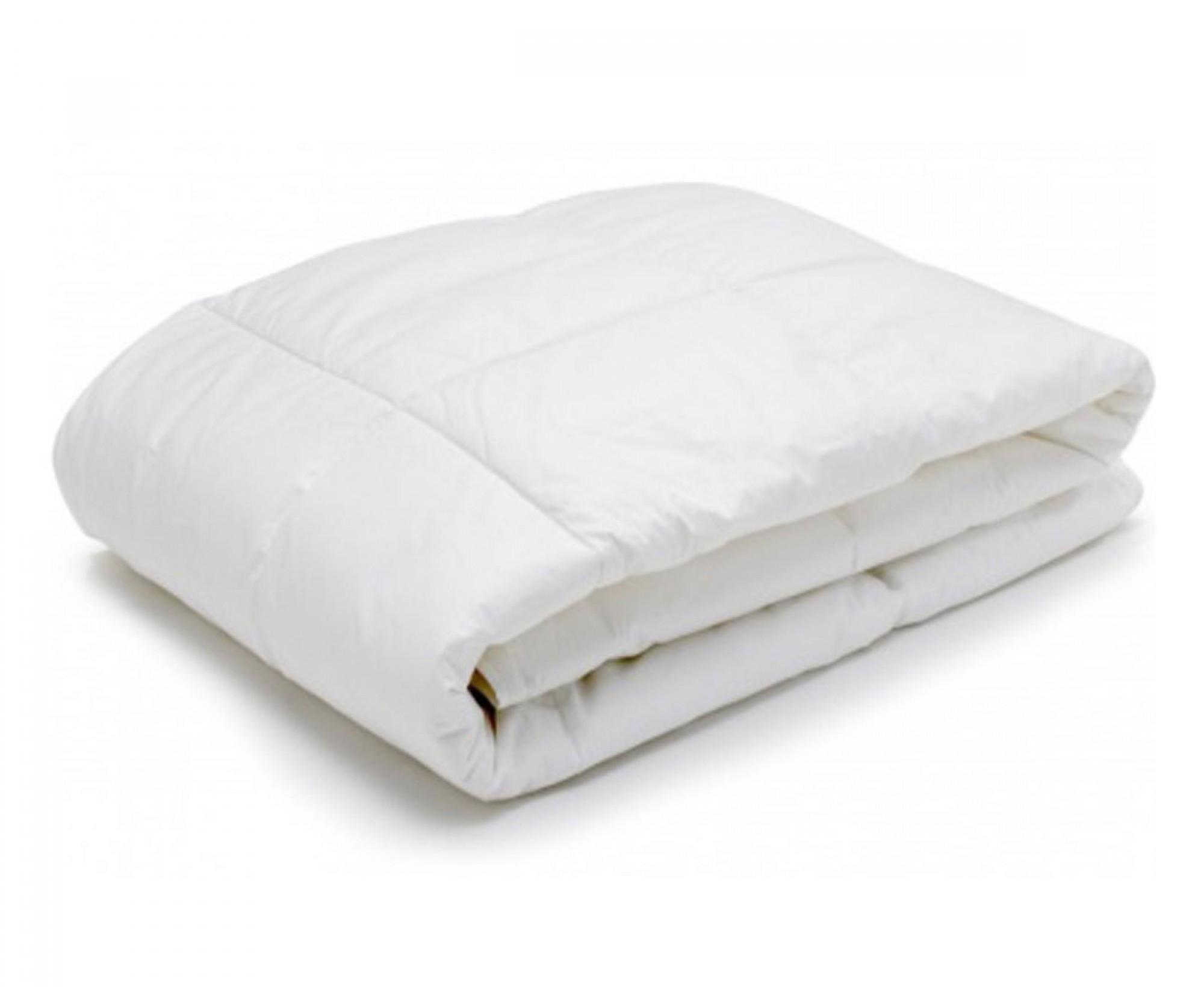 Одеяло круглое «Экофайбер в перкале»
