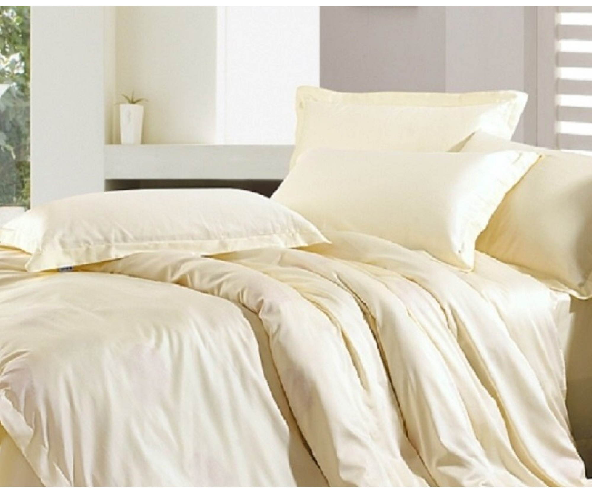 Простынь на резинке для круглой кровати «Шампань» /диаметр 220