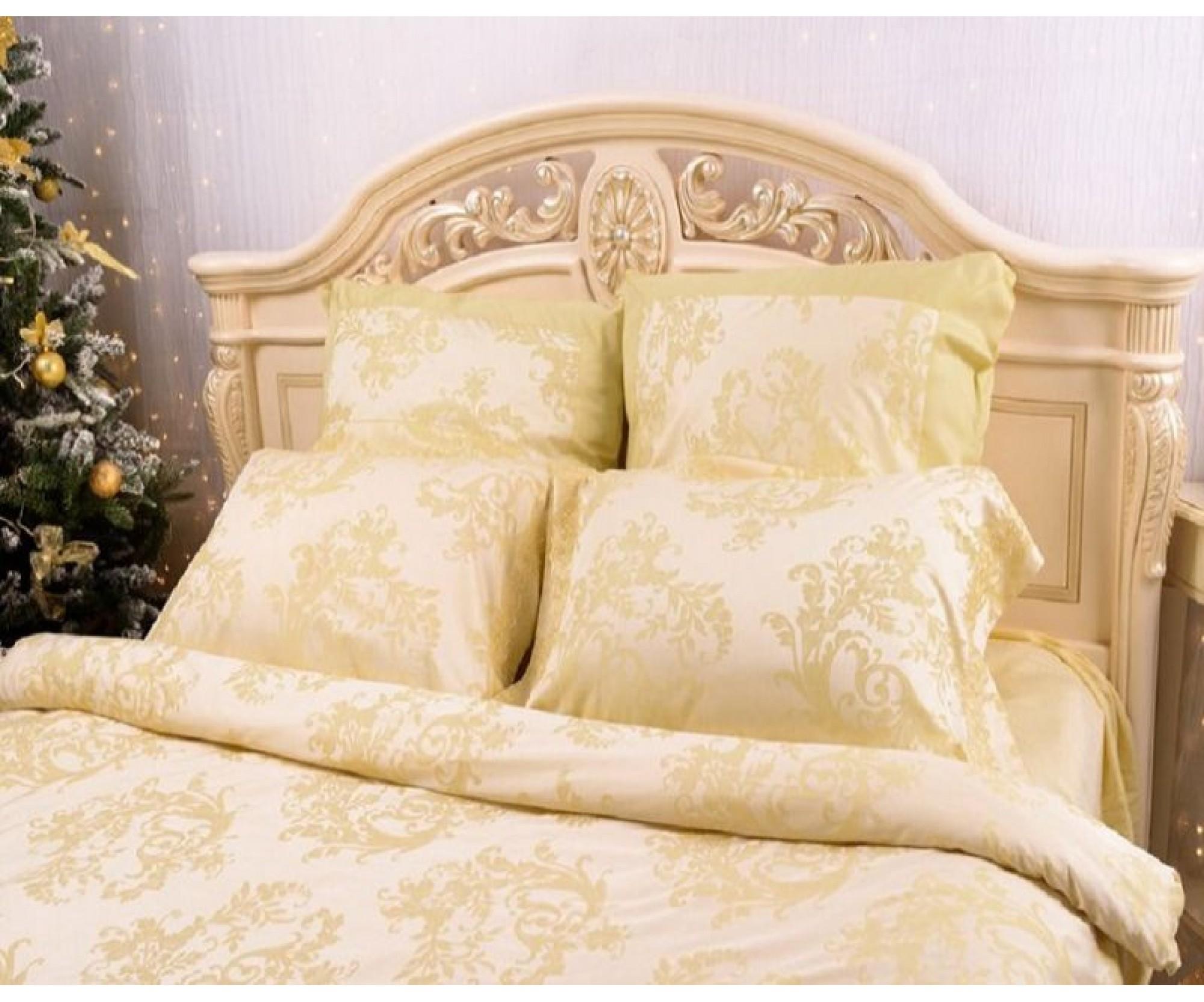 Простынь на резинке для круглой кровати  «Tencel Loza» /диаметр 200