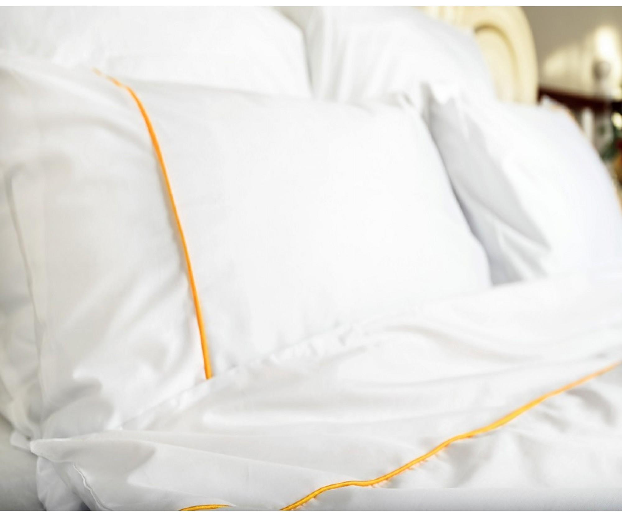 Постельное белье круглое «Декор белого»