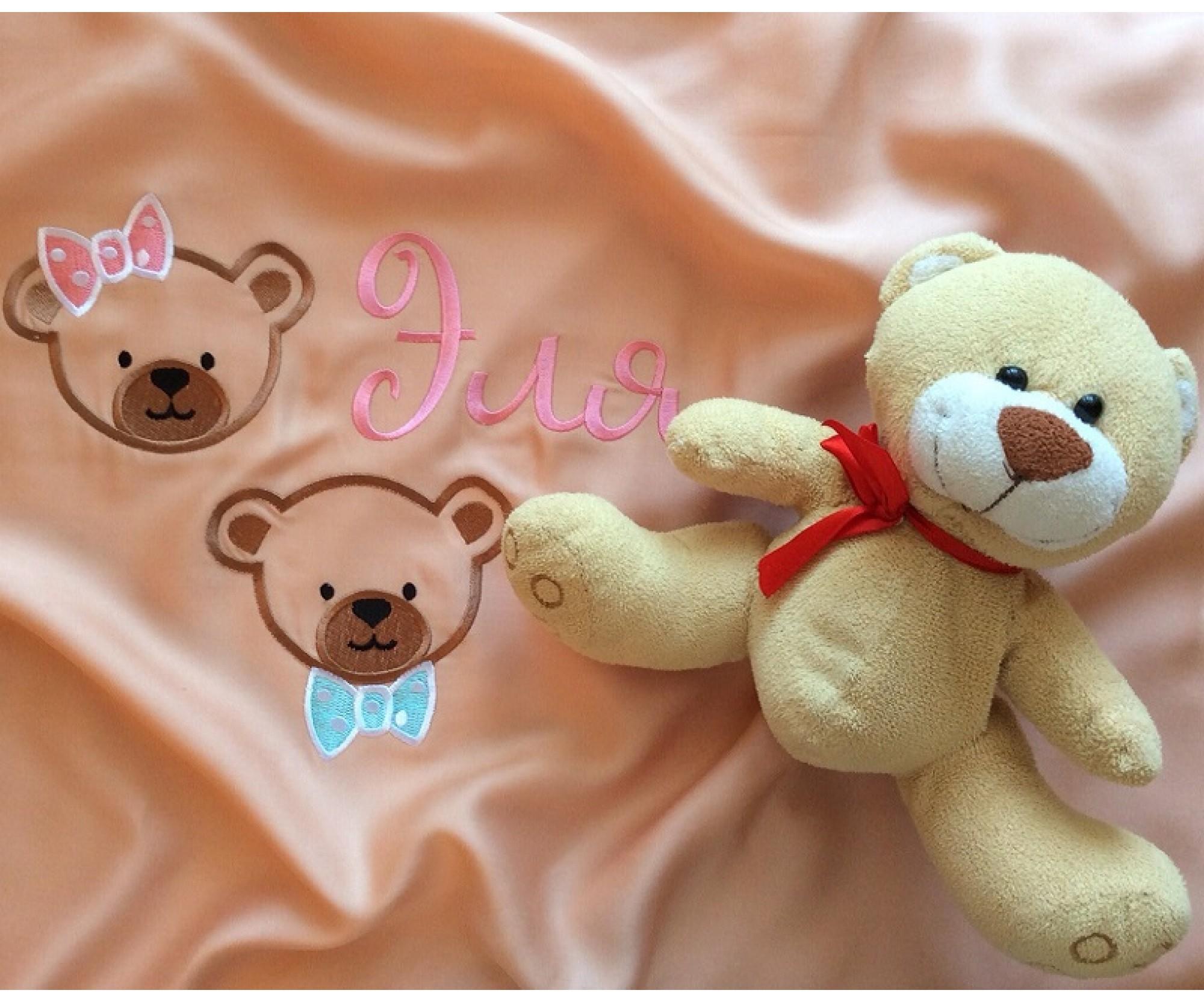 Вышивка на детском белье