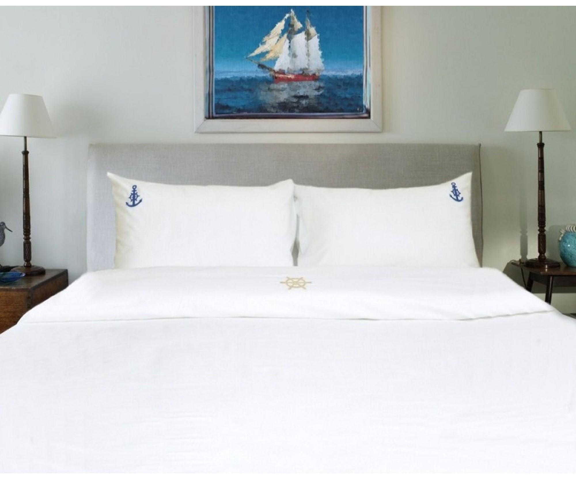 Семейное постельное белье «Круиз» /150Х210/230Х250 /50Х70 или 70х70