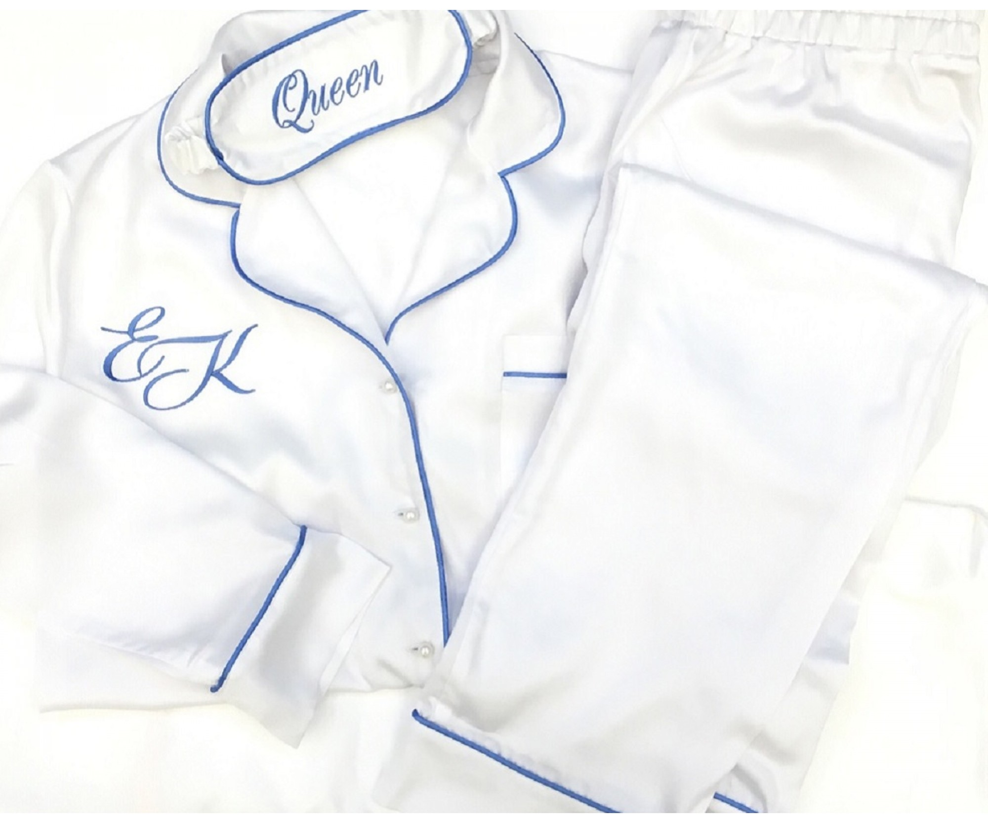 Пижама «Синди» белая