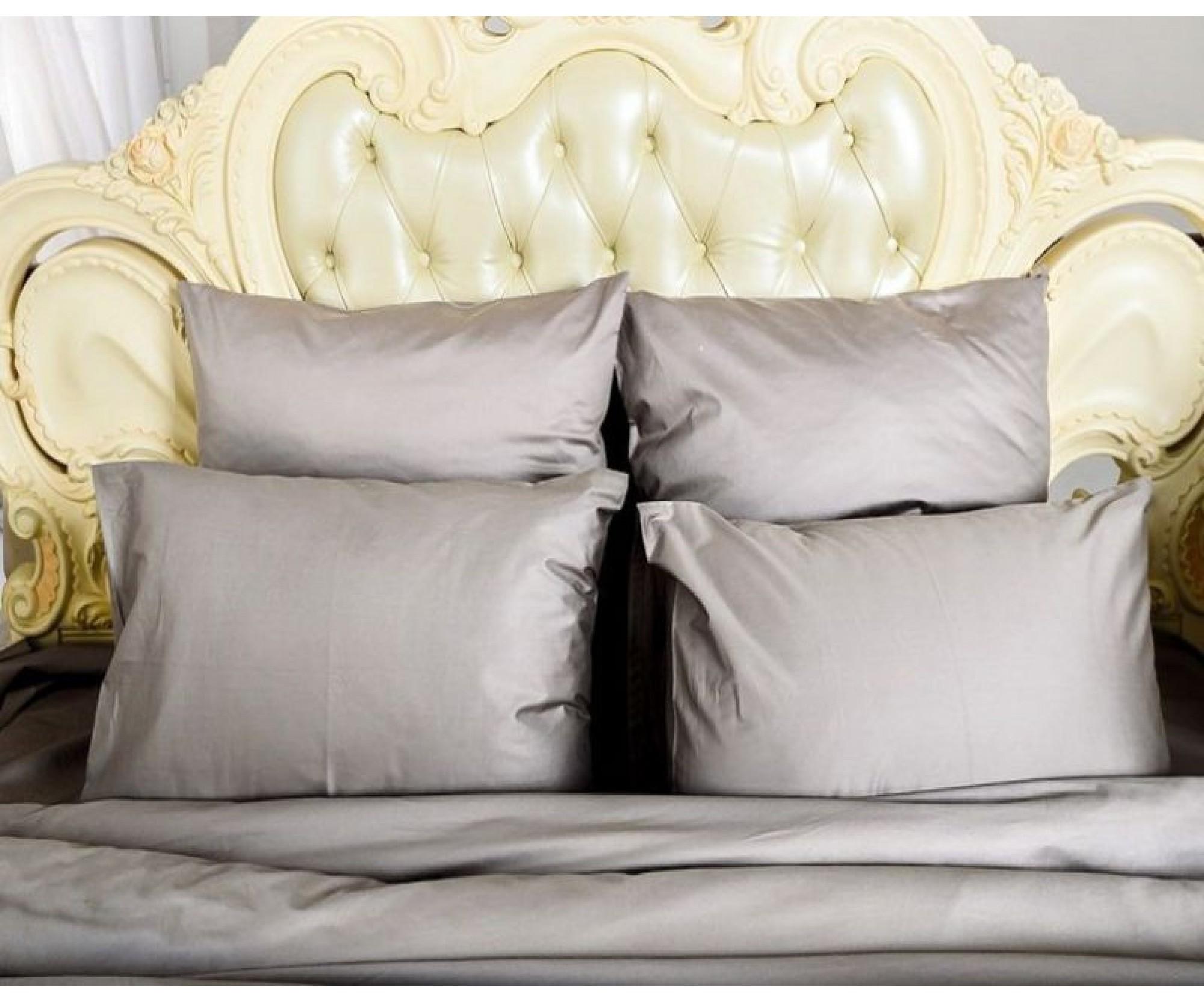 Семейное постельное белье «Серый Кашемир» /150Х210  /230Х250 /50Х70 или 70х70