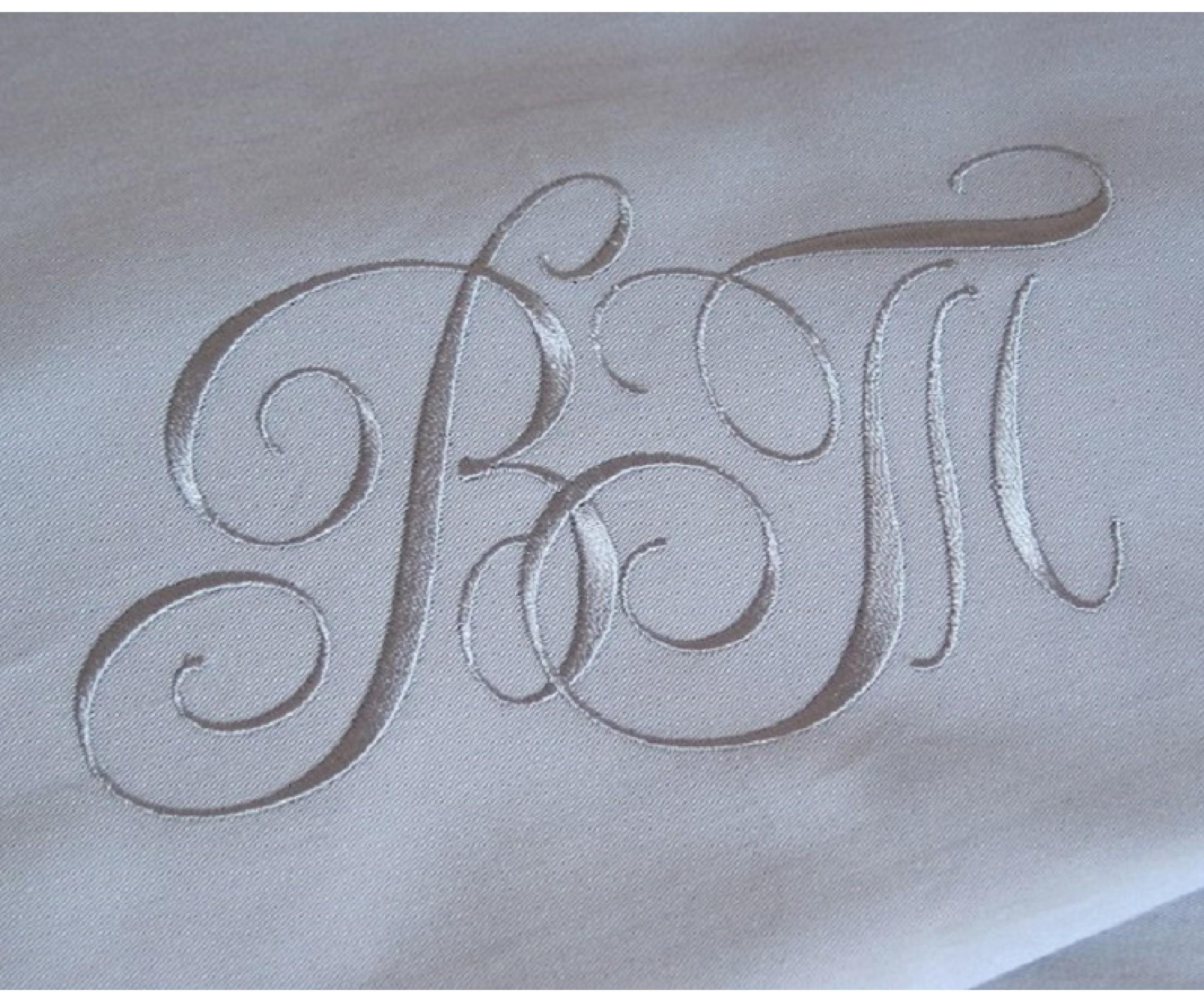 Постельное белье «Серый Кашемир»